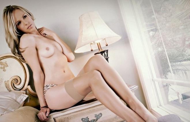 Шлюха блондинка